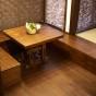 テーブル・収納付き椅子