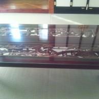 欄間を再利用したテーブル